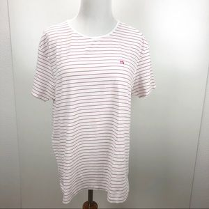 Scotch & Soda striped short sleeve tee shirt XL